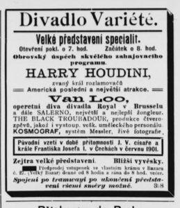 Humoristické listy hirdetés 1901 09 06