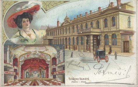 Karlin szinhaz képeslap 1903